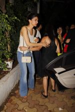 Deepika Padukone snapped with an international film maker at Olive on 13th June 2015