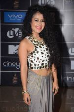 Neha Kakkar at MTV Bollyland in Mumbai on 13th June 2015