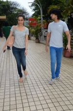 Shraddha Kapoor snapped with cousin Priyank on 14th June 2015 (25)_557d81494bff5.JPG