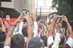 Amitabh Bachchan snapped at Jalsa on 14th June 2015