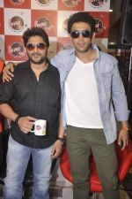 Arshad Warsi, Amit Sadh at Guddu Rangeela radio promotions in Mumbai on 16th June 2015