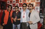 Arshad Warsi, Amit Sadh, Ajaz Khan at Guddu Rangeela radio promotions in Mumbai on 16th June 2015