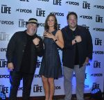 Brad Savage, Mary Lynn Rajskub and Greg Grunberg at Lycos Life Product presents Band From TV� Live In India in Blu Frog on 16th June 2015_55812741e7cf0.jpg