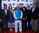 Chairman and CEO of Lycos Suresh Reddy, Mary Lynn Rajskuf, Joe Alvarez , Greg Grunberg,  Shefali Alvarex, Brad Savage and LYCOS President Brad Cohen at Lycos Life Product presents Band From TV_55812742d0c03.jpg