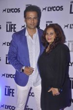 Rohit Roy, manasi Roy at Lycos Life Product presents Band From TV� Live In India in Blu Frog on 16th June 2015 (48)_558128cb093de.jpg