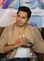 Varun Dhawan in Gurgaon for ABCD2 on 16th June 2015