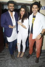 Arjun Kapoor, Varun Dhawan, Shraddha Kapoor at ABCD2 premiere in Mumbai on 17th June 2015