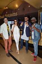 Arjun Kapoor, Varun Dhawan, Shraddha Kapoor, Remo D Souza at ABCD2 premiere in Mumbai on 17th June 2015