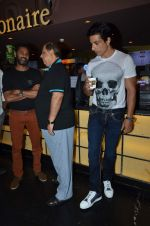 Prabhu Deva, David Dhawan, Sonu Sood at ABCD2 premiere in Mumbai on 17th June 2015