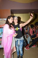 Prachi shah, Lauren Gottlieb at ABCD2 premiere in Mumbai on 17th June 2015 (82)_55826687b9887.JPG