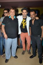 Varun Dhawan, David Dhawan at ABCD2 premiere in Mumbai on 17th June 2015