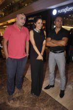 Lekha Washington and Rahul Bose at art installtion launch in Palladium, Mumbai on 18th June 2015