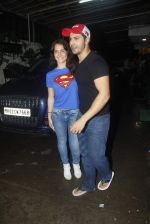 Varun Dhawan, Elli Avram at ABCD 2 screening in Sunny Super Sound on 18th June 2015