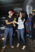 Varun Dhawan, Shraddha Kapoor at ABCD 2 screening in Sunny Super Sound on 18th June 2015