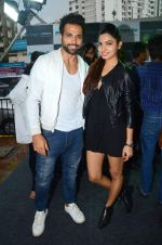 Avni Modi,Rithvik Dhanjani at Zapato launch in Prabhadevi on 20th June 2015
