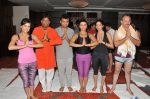 Shweta Khanduri, Raju Srivastav, Aneel Murarka, Rakhi  Sawant, Raj Zutshi  on the occassion of  International Yoga Day on 21st June 2015_5586e88ad9622.JPG