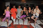 Shweta Khanduri, Raju Srivastav, Aneel Murarka, Rakhi  Sawant, and Raj Zutshi  on the occassion of  International Yoga Day on 21st June 2015_5586e8885662d.JPG