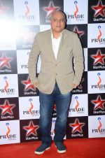 Manoj Joshi at Pride awards in Filmcity, Mumbai on 21st June 2015