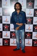 Raja Hasan at Pride awards in Filmcity, Mumbai on 21st June 2015