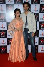 Rashmi Desai, Nandish Sandhu at Pride awards in Filmcity, Mumbai on 21st June 2015