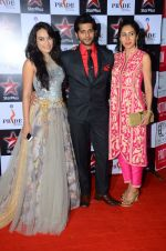 Teejay Sidhu, Karanvir Bohra at Pride awards in Filmcity, Mumbai on 21st June 2015
