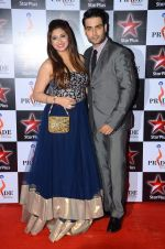 Vahbbiz Dorabjee and Vivian Dsena at Pride awards in Filmcity, Mumbai on 21st June 2015
