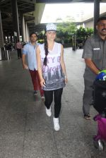 Elli Avram snapped at international airport on 22nd June 2015