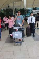Murli Sharma snapped at domestic airport in Mumbai on 22nd June 2015 (16)_5588f3b8c84eb.JPG