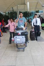 Murli Sharma snapped at domestic airport in Mumbai on 22nd June 2015 (18)_5588f3ba23587.JPG