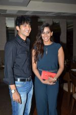Hiten Tejwani,  Sanjana Singh at Thoda lutf thoda ishq press meet on 23rd June 2015