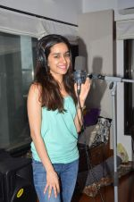 Shraddha Kapoor snapped singing a song for ABCD - Any Body Can Dance - 2 on 23rd June 2015