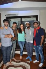 Shraddha Kapoor, Remo D Souza snapped singing a song for ABCD - Any Body Can Dance - 2 on 23rd June 2015