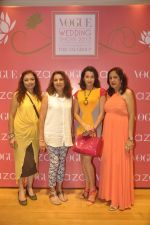 Pooja Kanwal, Anita Kanwal at Anju Modi showcases her bridal collection for AZA and the Vogue Bridal show in AZA on 24th June 2015