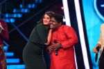 Sonakshi Sinha on the sets of Indian Idol Jr in Mumbai on 25th June 2015