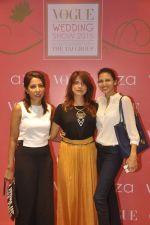 at Anju Modi showcases her bridal collection for AZA and the Vogue Bridal show in AZA on 24th June 2015