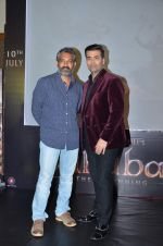 Karan Johar promotes Hindi Version of Bahubali on 25th June 2015