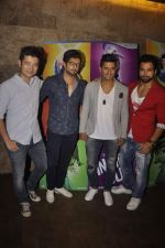 Meiyang Chang, Raqesh Vashisth, Ravi Dubey, Rithvik Dhanjani at the Special screening of Inside Out in Mumbai on 25th June 2015 (15)_558d07cfa7dd3.JPG