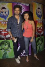 Raqesh Vashisth, Riddhi Dogra at the Special screening of Inside Out in Mumbai on 25th June 2015 (33)_558d07f3ceb40.JPG