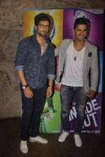 Raqesh Vashisth, Ravi Dubey at the Special screening of Inside Out in Mumbai on 25th June 2015 (10)_558d07f332aed.JPG