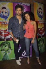 Raqesh Vashisth, Riddhi Dogra at the Special screening of Inside Out in Mumbai on 25th June 2015