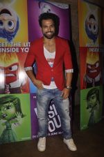 Rithvik Dhanjani at the Special screening of Inside Out in Mumbai on 25th June 2015 (19)_558d083e638c6.JPG