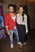 Rithvik Dhanjani, Asha Negi at the Special screening of Inside Out in Mumbai on 25th June 2015