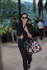 Asin Thottumkal snapped at airport in Mumbai on 26th June 2015 (20)_558e706505abf.JPG