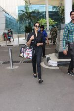 Asin Thottumkal snapped at airport in Mumbai on 26th June 2015