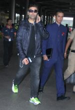Karan Johar snapped at airport in Mumbai on 26th June 2015