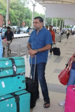 Paresh Rawal snapped at airport in Mumbai on 26th June 2015
