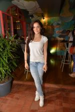 Elli Avram at Fatty Bow restaurant launch in Bandra, Mumbai on 27th June 2015 (50)_559178220032e.JPG