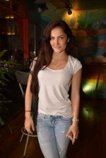 Elli Avram at Fatty Bow restaurant launch in Bandra, Mumbai on 27th June 2015