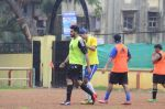 Abhishek Bachchan, Ranbir Kapoor snapped at all star football practice session in Bandra, Mumbai on 28th June 2015 (67)_55922e6dc7dae.JPG