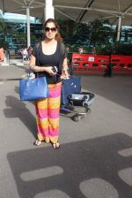 Laxmirai snapped at airport in Mumbai on 29th June 2015 (19)_55923c7a245e1.JPG
